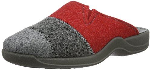 Rohde Vaasa-D, Damen Pantoffeln, Grau (Grau 80), 40 EU