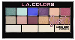L.A. Colors Sweet� 16 Color Eyeshadow Palette, Playful, 20g