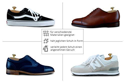 414aL1mqODL - Langer & Messmer, Hormas para zapatos de madera de cedro, tamaño 44/45, el original