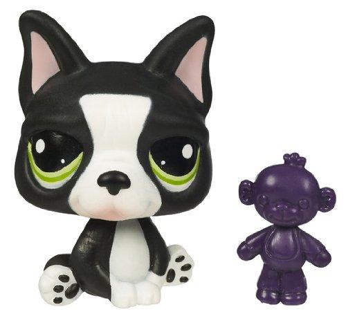 Imagen principal de Hasbro Littlest Pet Shop Mascotas pet shop B Bulldog francés - Mascota de juguete coleccionable