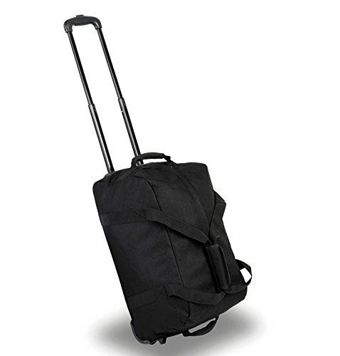 Mitglieder Reisetasche auf Rädern Schwarz schwarz XL - 85 x 40 x 46 cm - 3 kg schwarz