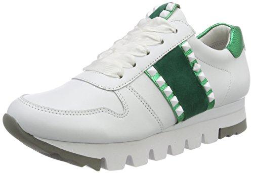 Kennel und Schmenger Damen Lion Sneaker, Weiß (Bianco/Smaragd Sohle Weiß), 39 EU (6 UK)