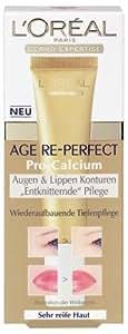 L'Oréal Paris Soin contours yeux et lèvres Age Re-Perfect Pro Calcium, 15 ml