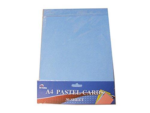 (30 Blatt A4 Pastellfarben farbiges Bild/Tonpapier zum 200GSM)
