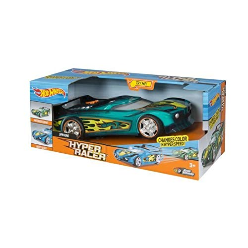 Hot Wheels - Voiture sons et lumiere Hyper Racer - Spin King