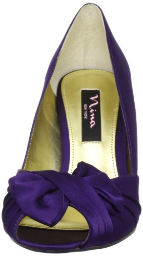 Nina Bridal Forbes Azul Special Occasion Neob FORBES01, Sandali Donna Grape