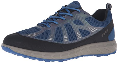 Ecco Herren Terratrail Traillaufschuhe Mehrfarbig (BLACK/POSEIDON/BERMUDA BLUE59985)