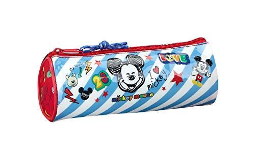 22 x 7 cm Color Multicolour Disney Princesas Estuche portatodo en Forma de Tubo Montichelvo 54248