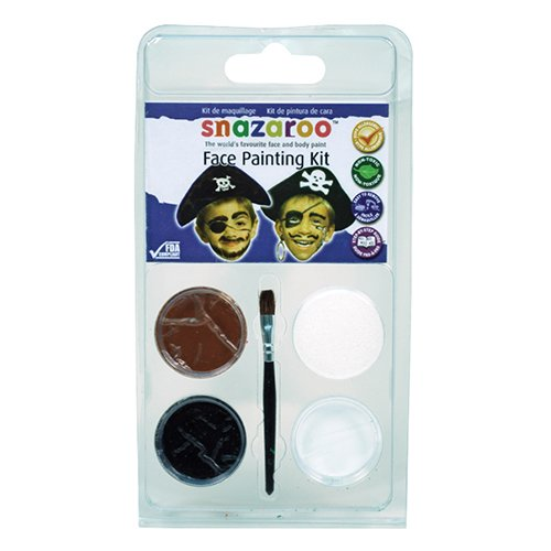 Snazaroo Face Painting Mini Theme Kit-Pirate/ Sold as a pack of (Pirate Kit)