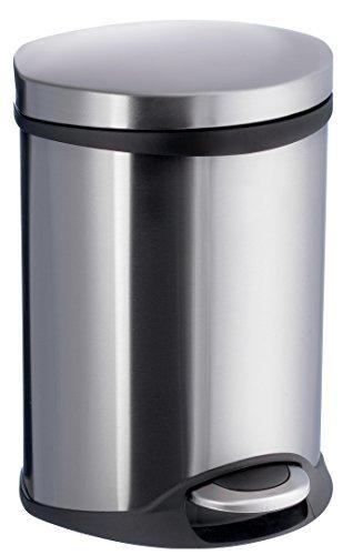 Smedbo OUTLINE LITE Kosmetikeimer 6 L Edelstahl gebürstet mit Softclose