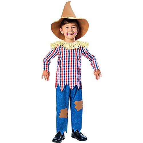 Child Scarecrow Costume 3-4yrs