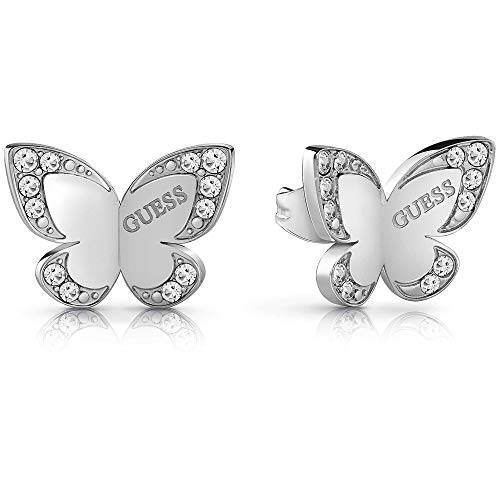 Pendientes Guess Love Butterfly acero inoxidable quirúrgico