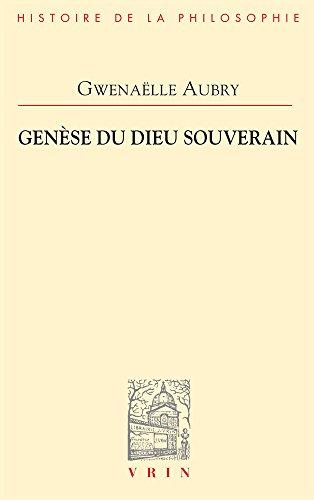 Genèse du dieu souverain