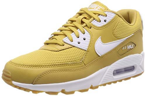 newest 6160a 29592 Nike Women s s WMNS Air Max 90 Gymnastics Shoes Beige (Wheat Gold White Gum