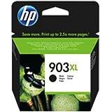 HP 903XL - Cartucho de tinta para impresoras (alto, compatible con OfficeJet Pro 6960 AiO/6970 AiO), negro