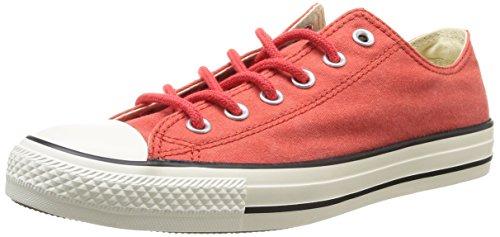 Converse Chuck Taylor All Star Adulte Basic Wash Ox 380770 Unisex - Erwachsene Sneaker Orange (17 ORANGE BRIQUE)