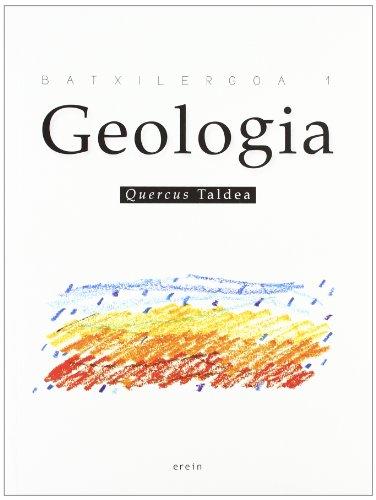 Geologia Batxilergoa 1 - 9788497465281