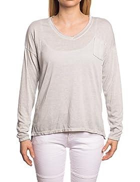 Abbino IG007 Camisas Blusas Tops Para Mujer - Hecho EN Italia - Varios Colores - Transición Primavera Verano Atractivo...