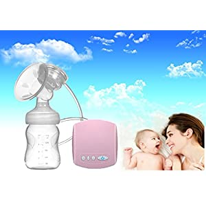 New Updated Natural Comfort Single Electric Breast Pump 150 ml Portable USB Electric Silicone Breast Pump Easy Use Breast Milk Sucker