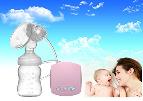 New Updated Natural Comfort Single Electric Breast Pump 150 ml Portable USB Electric Silicone Breast Pump Easy Use Breast Milk Sucker 414aWYCsziL
