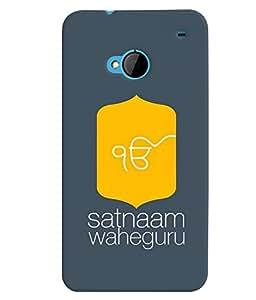 MakeMyCase Satnaam Guru-3 case For HTC One M7