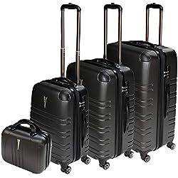 Dell - Juego de maletas Schampagner M L XL BEATY CASE