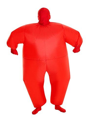 Morphsuits rot Megamorph aufblasbar Kinder Kostüm–EINE (Rot Kinder Morphsuit)
