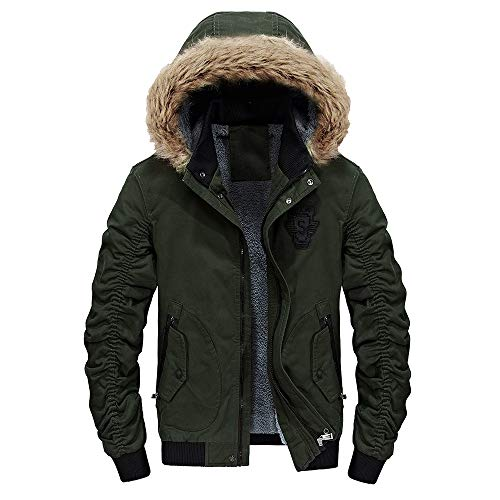 Herren Hoodie,TWBB Warme Mantel Vlies Baumwolle Winter Verdicken Pullover Coat Outwear Lange Ärmel...