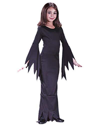 (Madame Morticia Kinderkostüm Small)