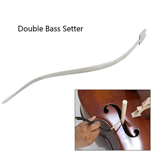 XuBa Cello/Kontrabass Sound Post Setter aufrecht Edelstahl Spalte Haken Werkzeug Saiten Instrument Cello Teil Zubehör Kontrabass Setter