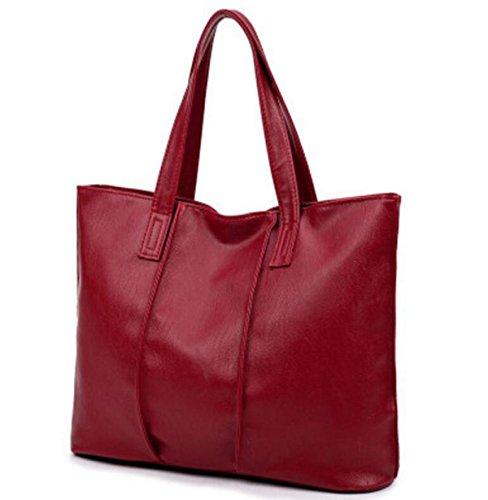 Europei E Americani Di Moda Selvaggio Mobile Messenger Bag Borsa Grande Afflusso Di Borse Donne Borse Tempo Libero Pacchetto Viaggio Red