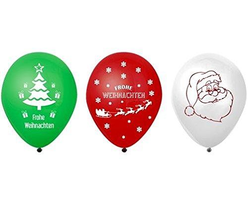 lons LED Weihnachten (Ballons Mit Led-lichtern Im Inneren)