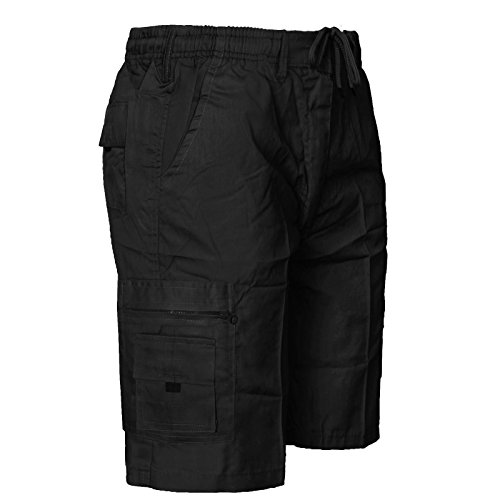 Other Herren Shorts Badeshort, Einfarbig * Medium Schwarz