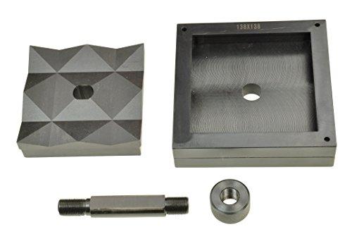 Pro-Lift-Montagetechnik Blechlocher viereckig, 138mm x 138mm, Zugbolzen + Mutter, 00801