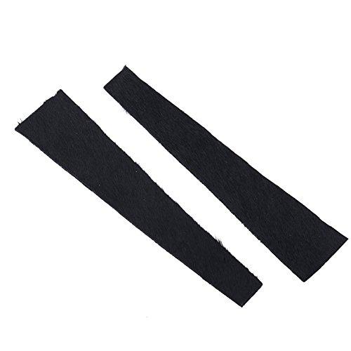 2pcs Amortiguador Cuerda Tiro Arco Silenciador Cadenas