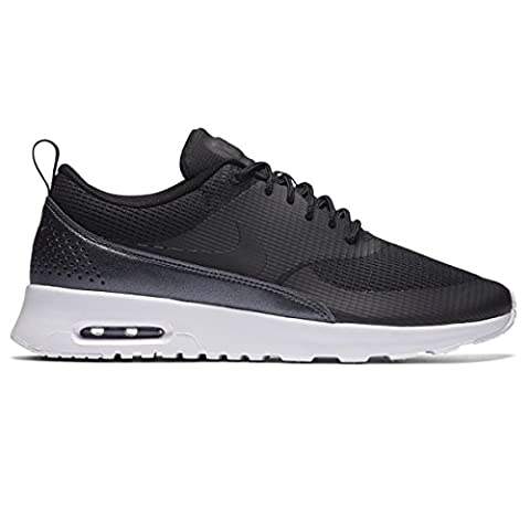 Nike Damen W Air Max Thea Txt Turnschuhe, Negro (Black / Black), 36 EU (Nike Air Max Thea Black)