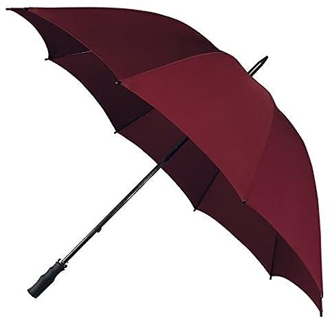 Falcone Fibreglass Windproof Golf Umbrella - Maroon