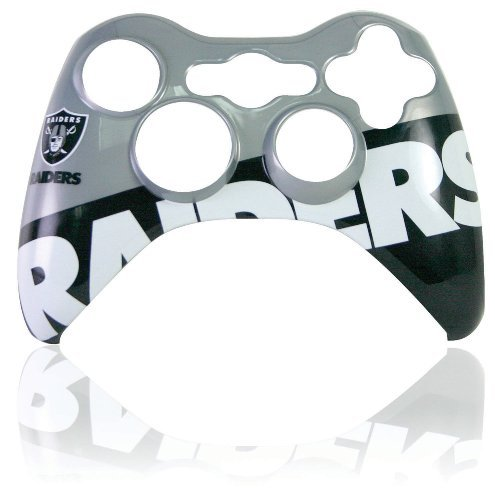 Xbox 360 Official NFL Oakland Raiders Controller Faceplate by Mad Catz
