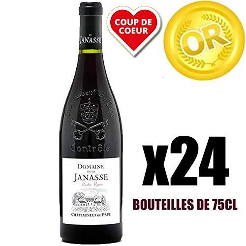 X24 Châteauneuf du Pape'Vieilles Vignes' 2014 75 cl Domaine de La Janasse AOC Châteauneuf du Pape Rotwein