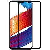 Karpine 5D Edge to Edge Full Coverage Full Glue Tempered Glass for Oppo F7 (Black)