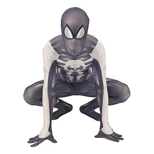 DSFGHE Punisher Spiderman Kostüm Cosplay Siamesische Strumpfhosen Umzug In Kinder-Mann-Filmrequisiten Party Stage Performance Dress Up,Adult-XL (Punisher Cosplay Kostüm)