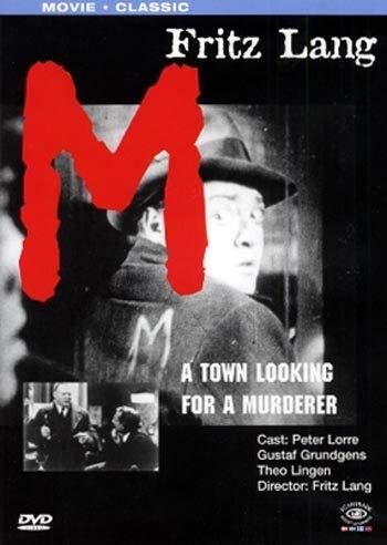 M Eine Stadt sucht eine Mörder * Peter Lorre, Gustaf Gründgens, Theo Lingen * REGIE: Fritz Lang