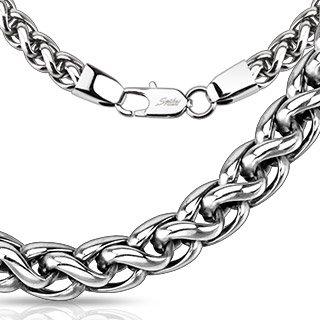bungsar-collana-argento-anelli-confusa-in-acciaio-inox-per-uomo-e-donna-4-mm-larghezza-62-cm-di-lung