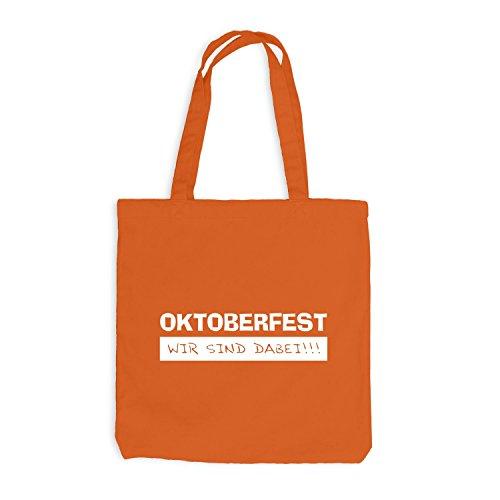 Sacchetto Di Juta - Oktoberfest - Ci Siamo - Wiesn Party Orange