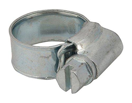 Fixman 721879 Lot de 10 Colliers de serrage, Gris