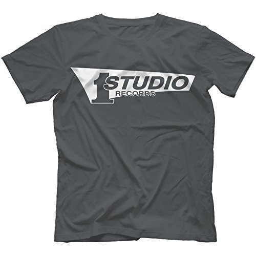 studio-1-records-t-shirt-in-13-farben-kohle-large