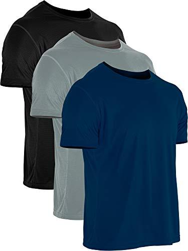 Cadmus Herren Sport-T-Shirt, kurzärmelig - grau - Klein