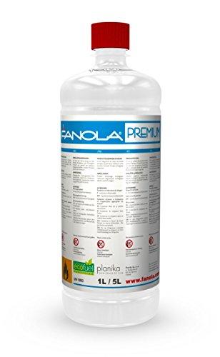 Planika Fanola - 96,6% iges Bioethanol in 1 Liter Flaschen: 12 Liter