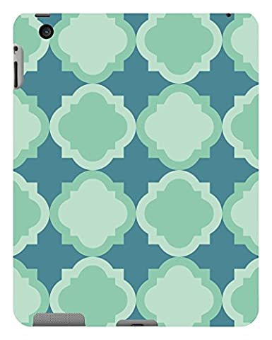 Koveru Back Cover Case for Apple iPad-2 - Snowflakes Pattern