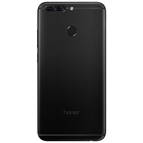 "Honor 8 Pro - Smartphone libre de 5.7"" (6 GB de RAM, 64 GB de memoria interna, Emotion UI5.0 compatible con Android 7.0, Kirn 960 octa core, cámara de 12 MP + 12 MP, frontal 8 MP), color negro"
